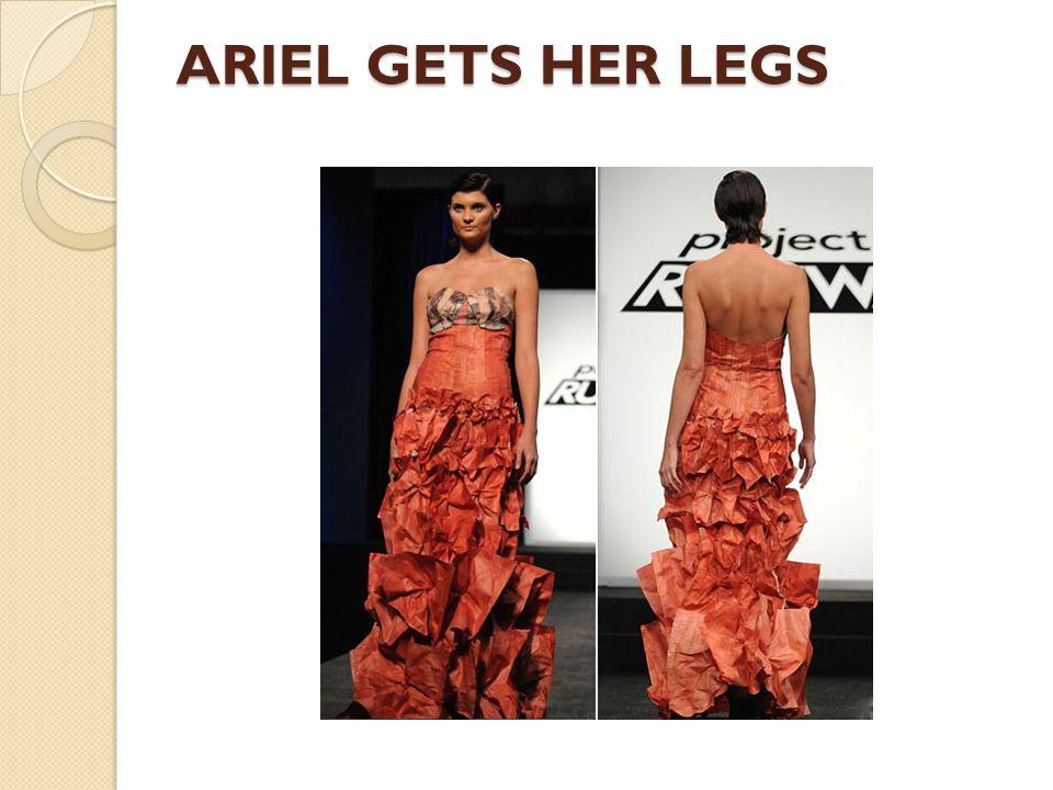 ARIEL GETS HER LEGS
