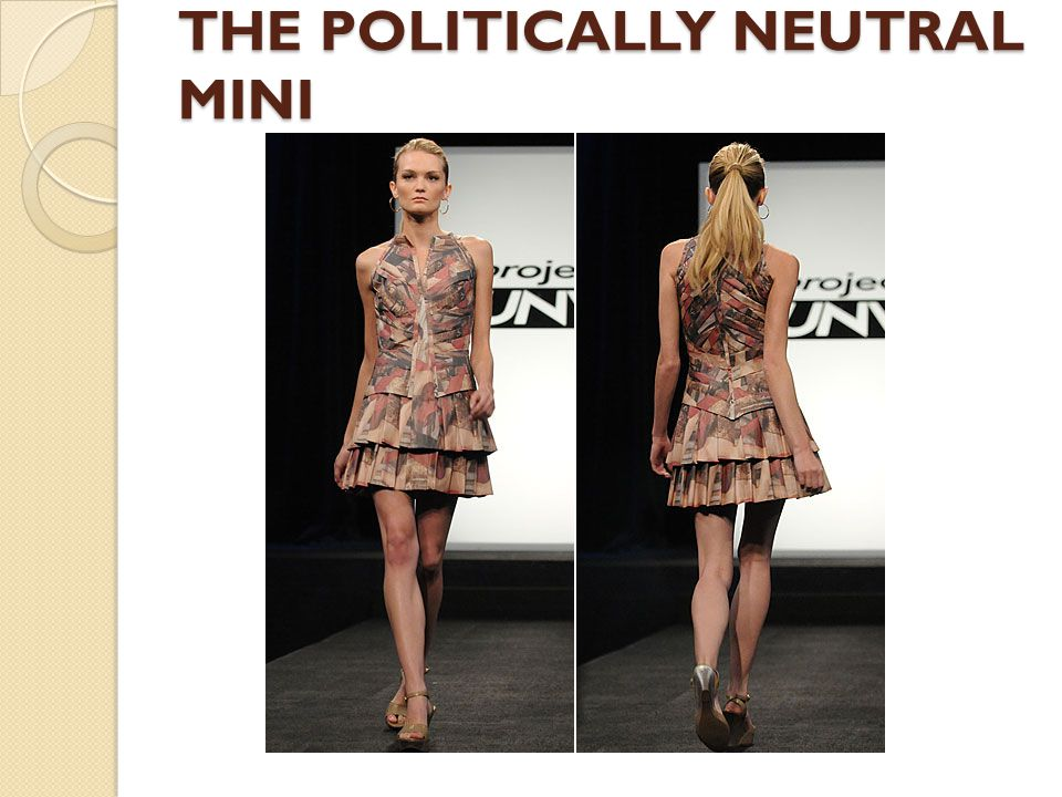 THE POLITICALLY NEUTRAL MINI