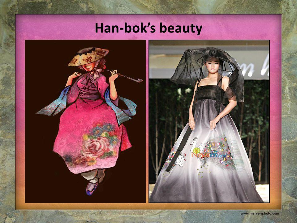 Han-bok's beauty