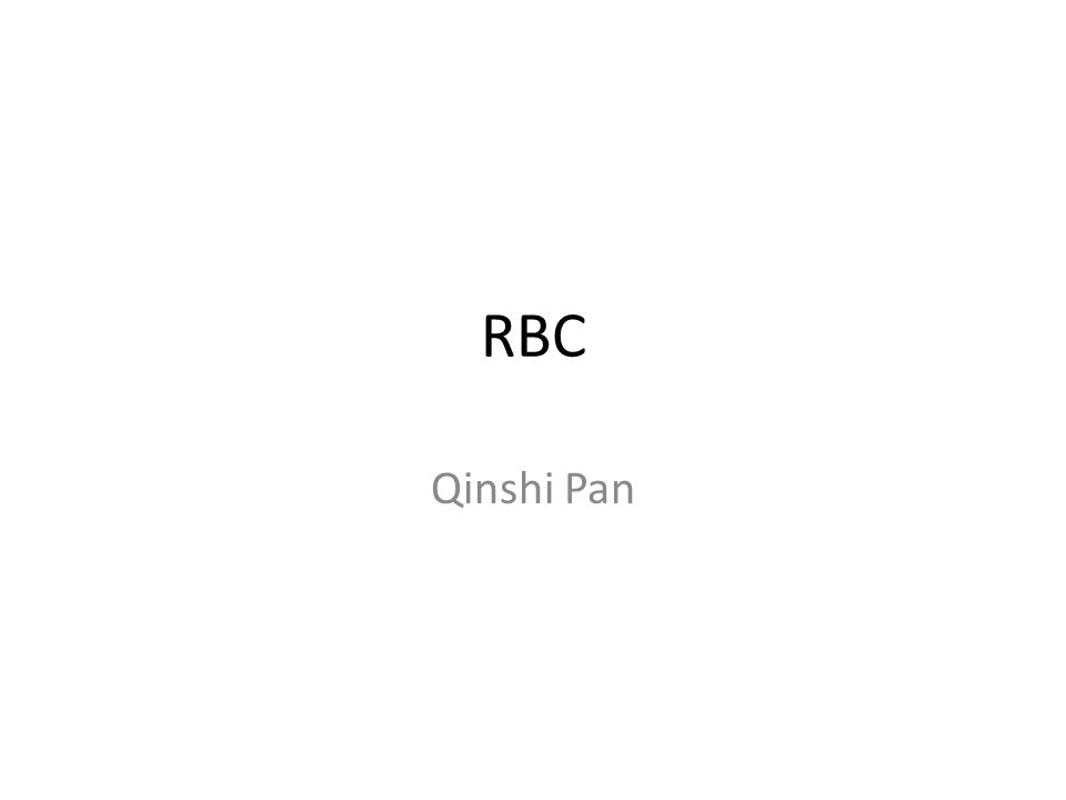 RBC Qinshi Pan