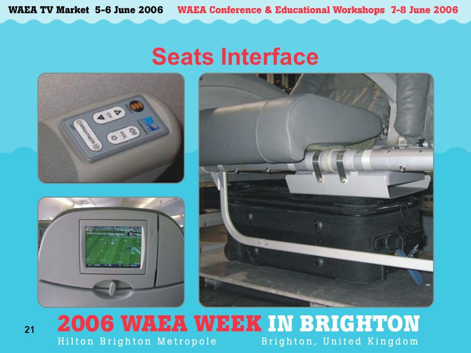 21 Seats Interface