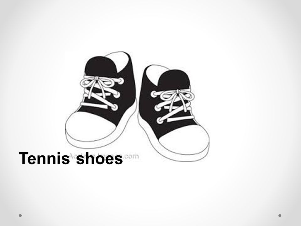 Tennis shoes