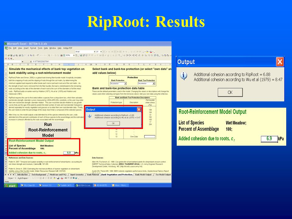 RipRoot: Results