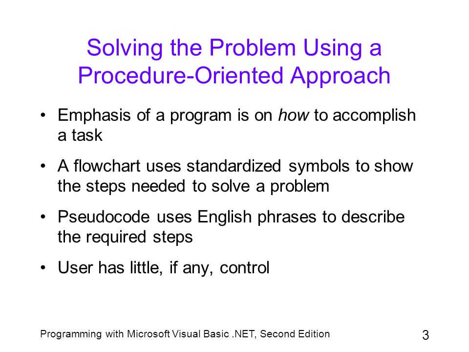 Programming with Microsoft Visual Basic.NET, Second Edition 24 Assigning Access Keys An access key allows the user to select an object by using the Alt key in combination with a letter or number Each access key must be unique You can assign an access key to any control that has a Caption property