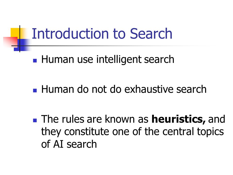 Outline Intro to Representation and Search Ch3 Structures and strategies for state space search