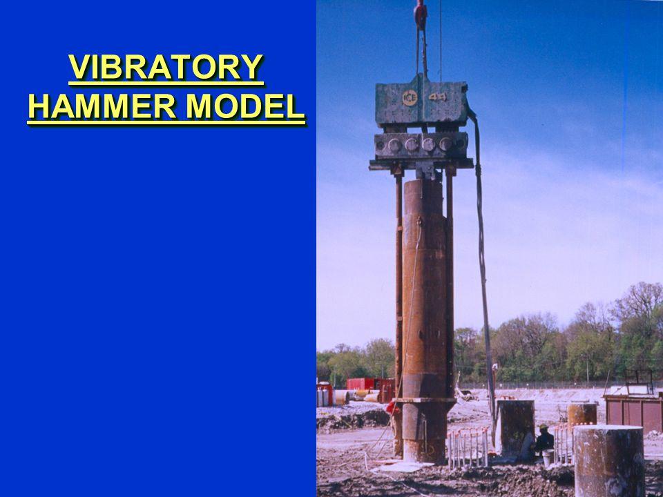 VIBRATORY HAMMER MODEL