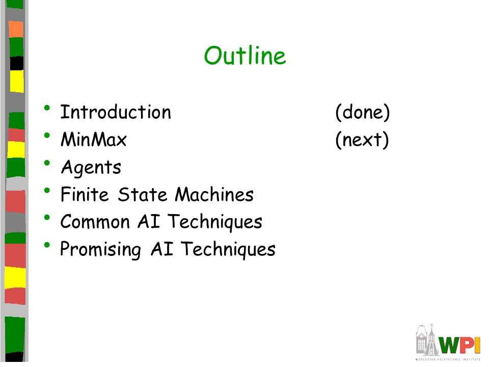 Finite State Machines Abstract model of computation Formally: –Set of states –A starting state –An input vocabulary –A transition function that maps inputs and the current state to a next state (Do detailed example next slide)