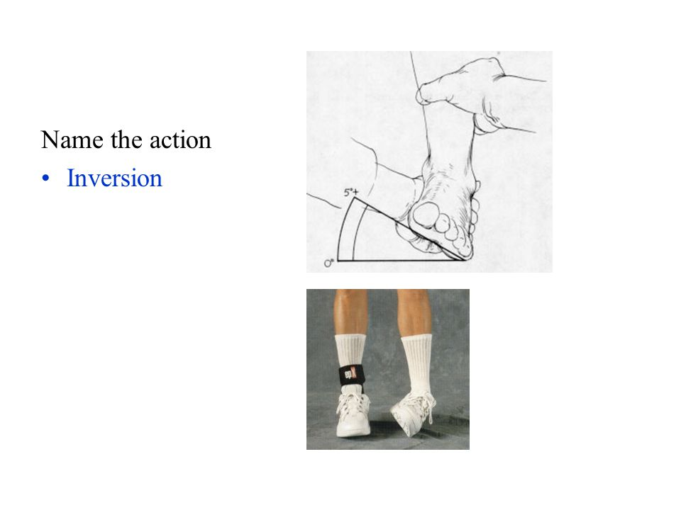 Name the action Inversion