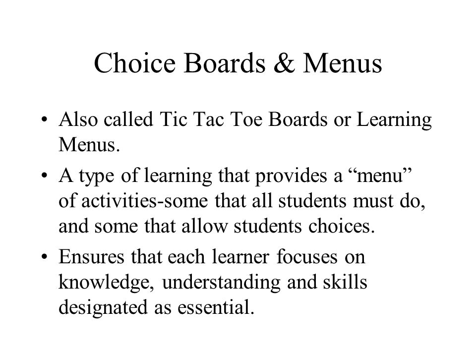 Guidelines for Tiered Instruction 1.Ensure that group membership is flexible.