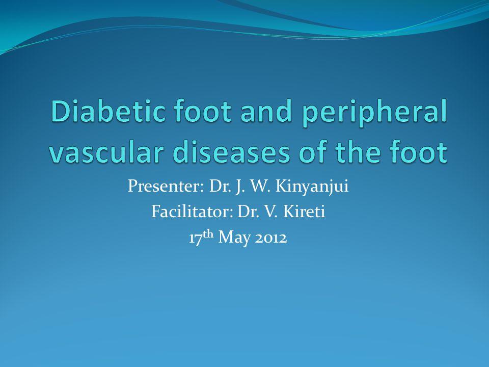 Presenter: Dr. J. W. Kinyanjui Facilitator: Dr. V. Kireti 17 th May 2012