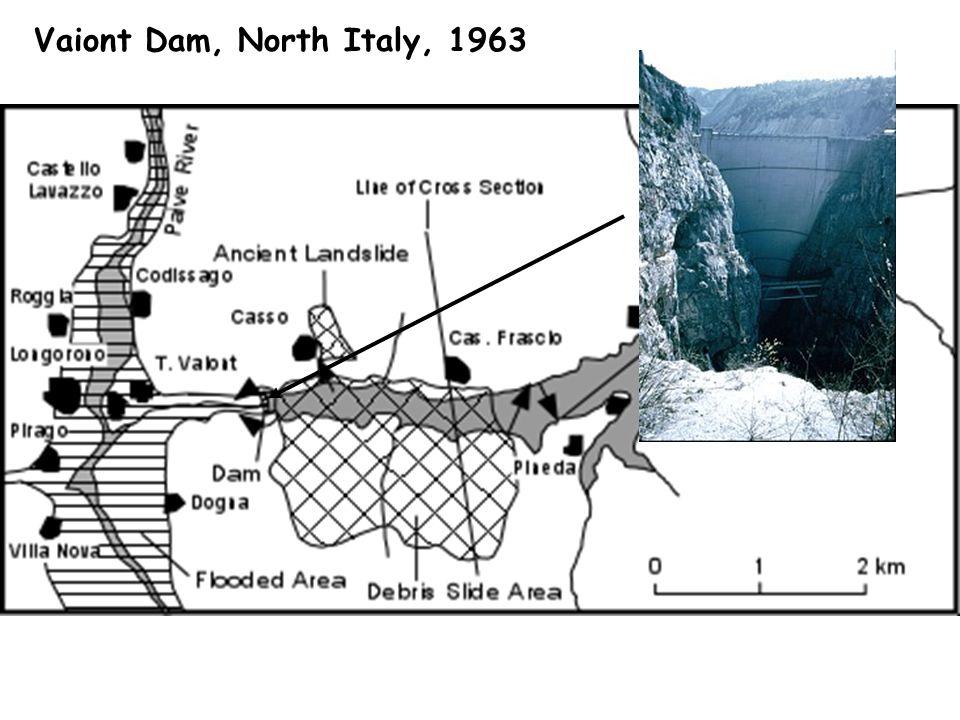 Vaiont Dam, North Italy, 1963