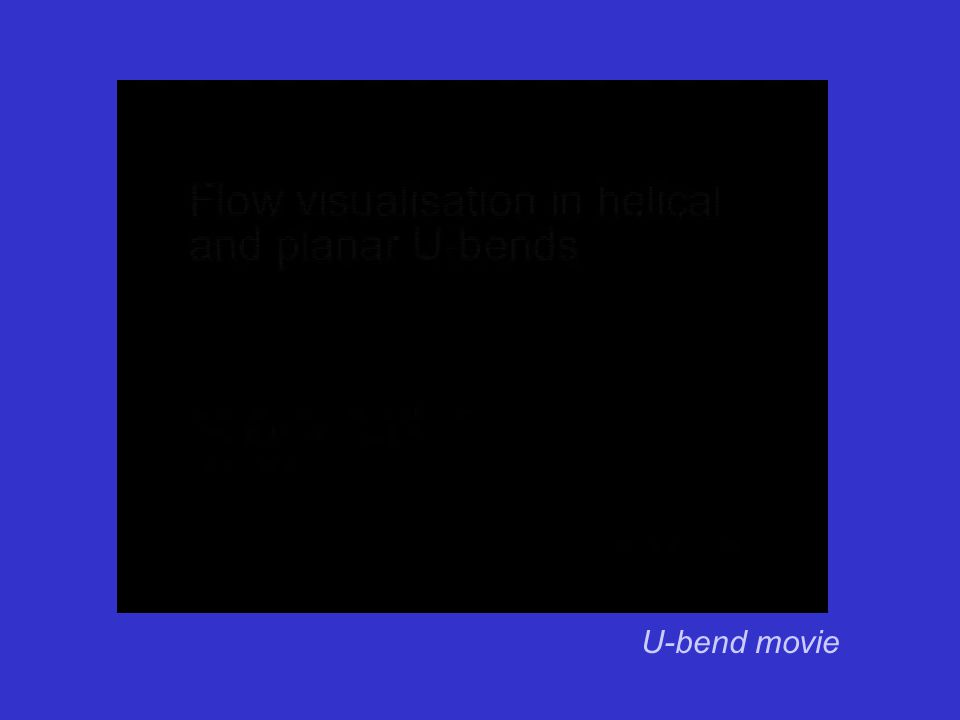 U-bend movie