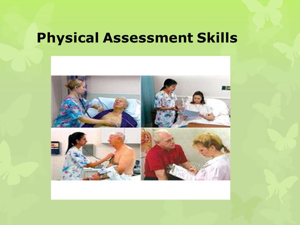 Physical Assessment Skills