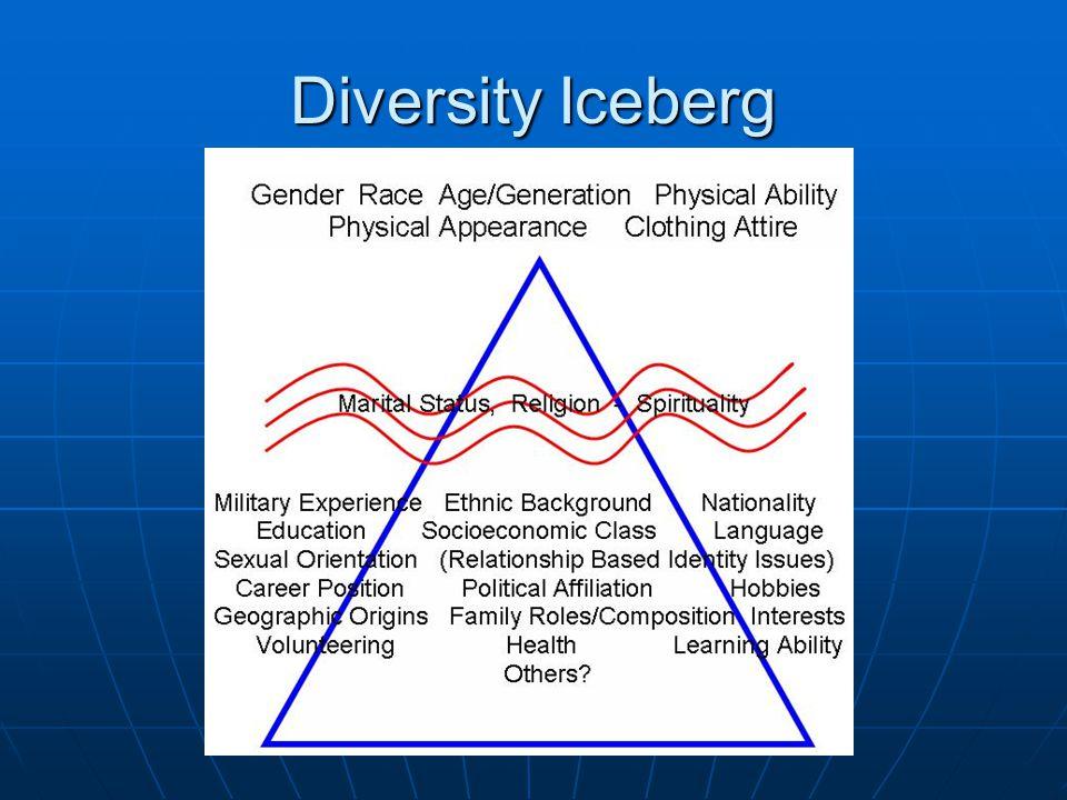 Diversity Iceberg