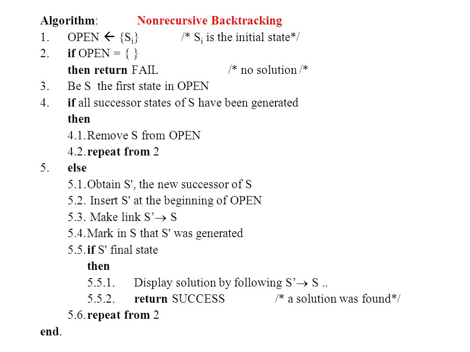 1.8 Heuristics All solutions – try finding first blocking One solution - try most promising paths variable ordering – variables that are linked by explicit constraints should be sequential - all solutions – prefer vars that goes in a small no of contraints and have small domains value ordering - all solutions – start with the most constraint value of a variable test ordering – all solutions – start testing with the most constraint previous var