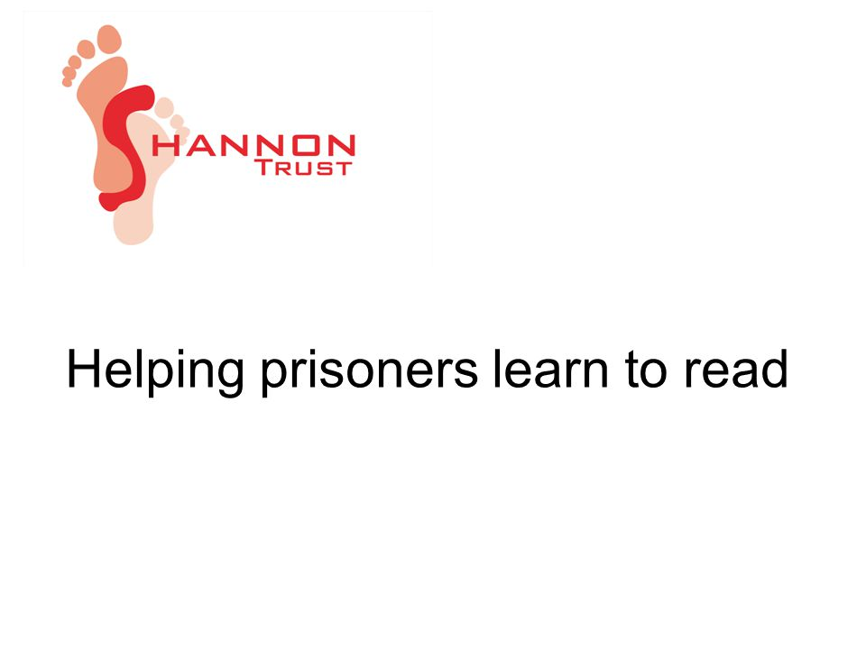 Helping prisoners learn to read
