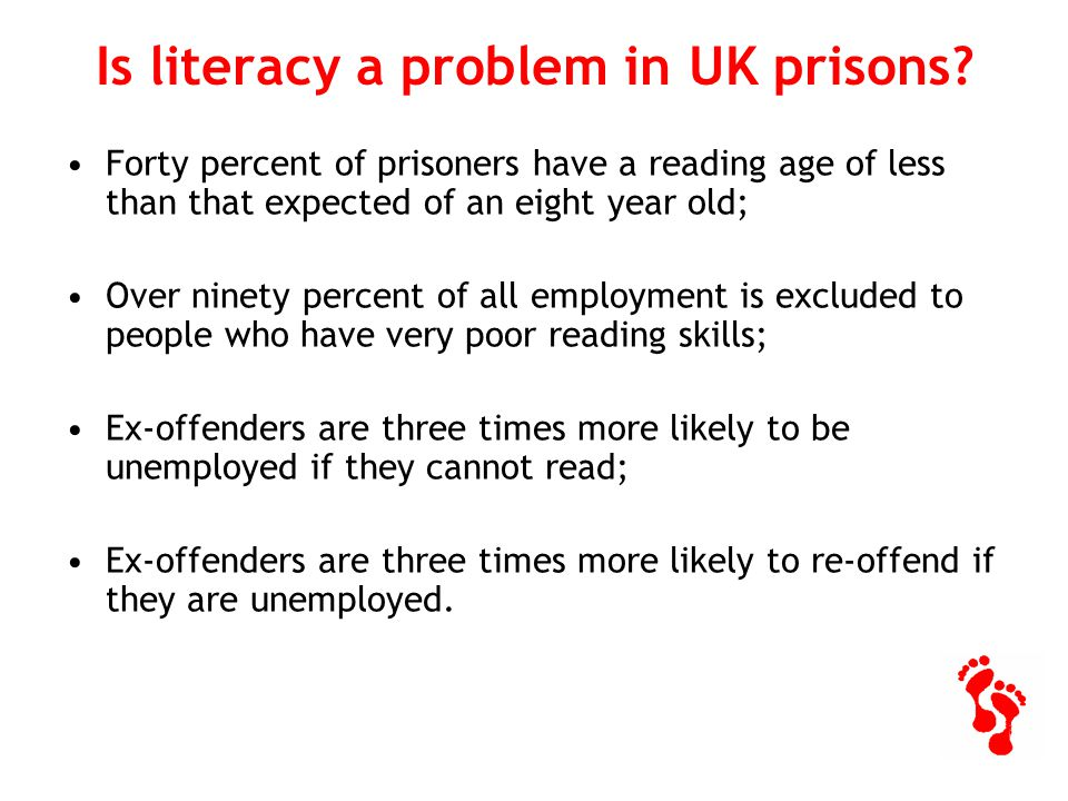 Toe by Toe Reading Plan the single best thing introduced into prisons in the last ten years. Stephen Shaw Prisons and Probation Ombudsman October 2007