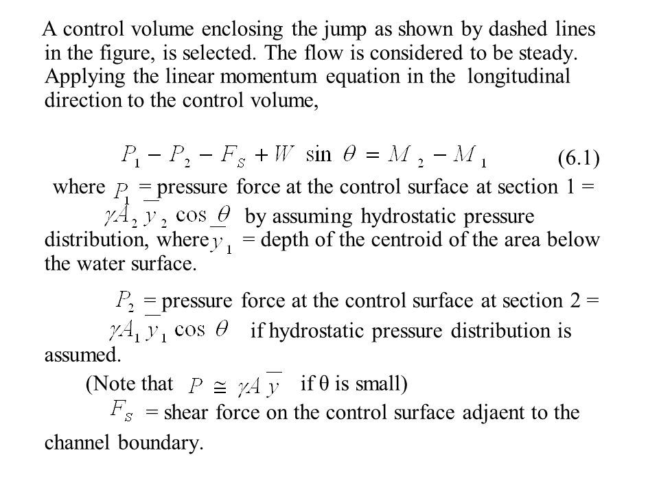 By the energy equation (Energy loss over the spillway is neglected) By trial-and – error By Eq.(6.4),
