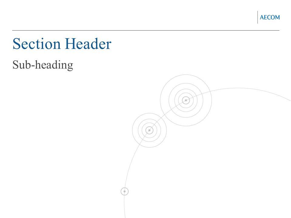 Section Header Sub-heading