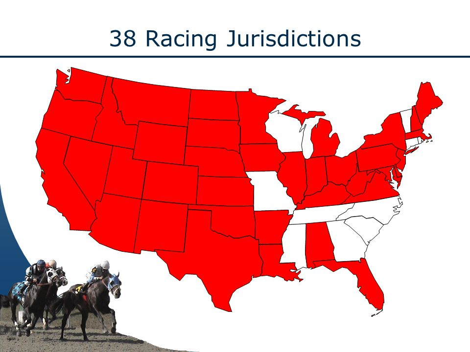 38 Racing Jurisdictions