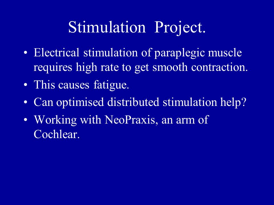 Stimulation Project.