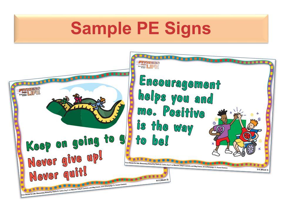 Sample PE Signs