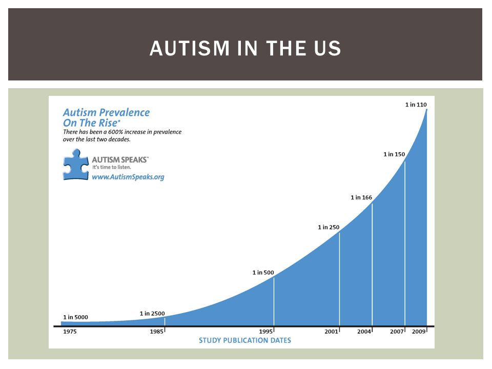 AUTISM IN THE US