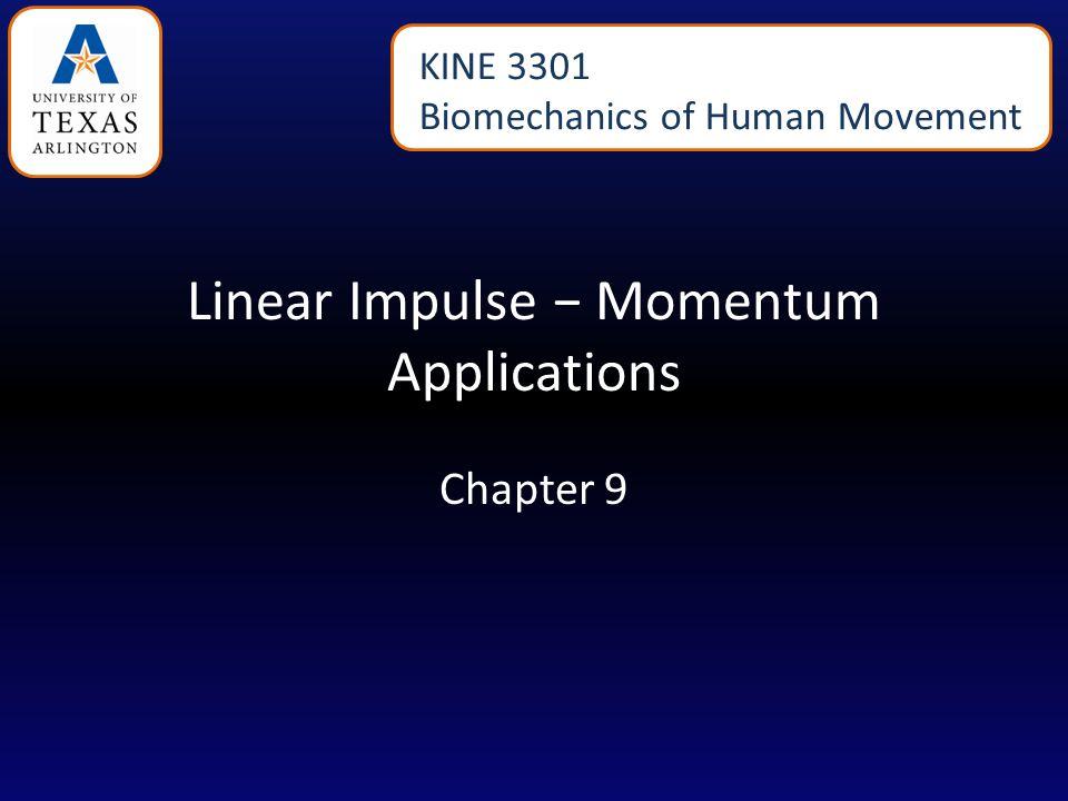 Free Body Diagram for Vertical Impulse - Momentum
