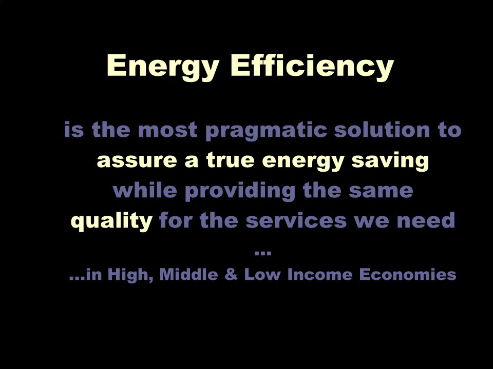 Emanuela Colombo - POLIMI 14 is the most pragmatic solution to assure a true energy saving while providing the same quality for the services we need..