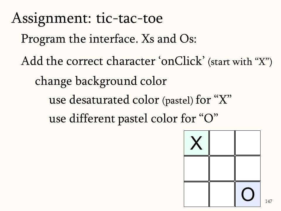 Program the interface.