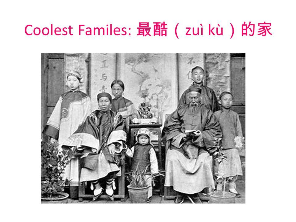 Coolest Familes: 最酷( zuì kù )的家