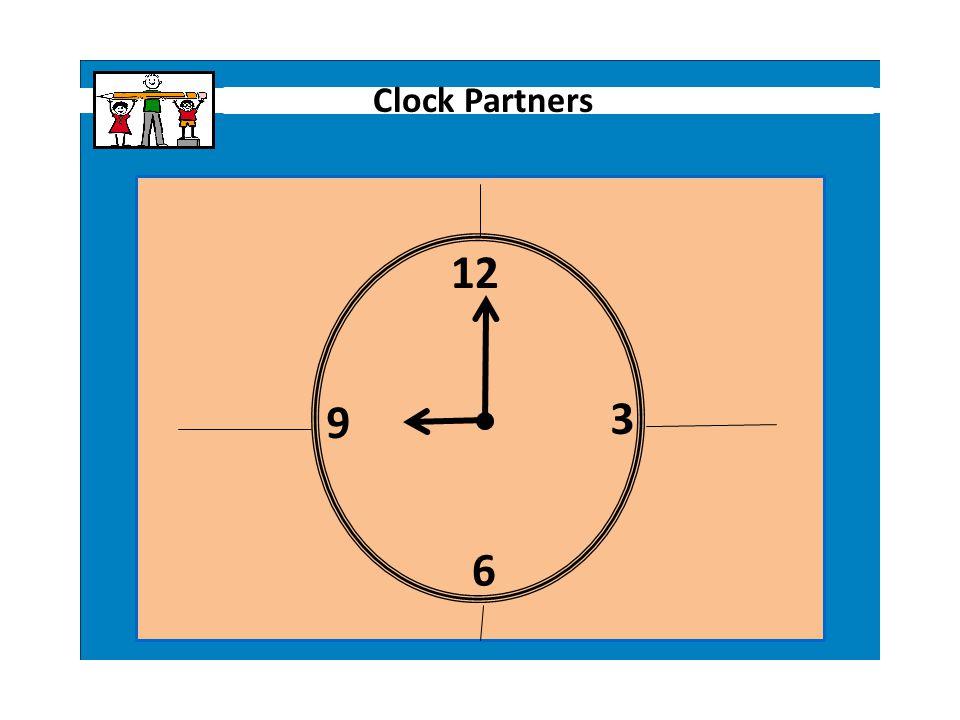 9 12 3 6 Clock Partners