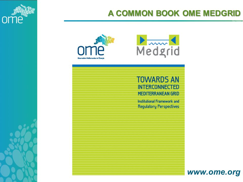 A COMMON BOOK OME MEDGRID www.ome.org