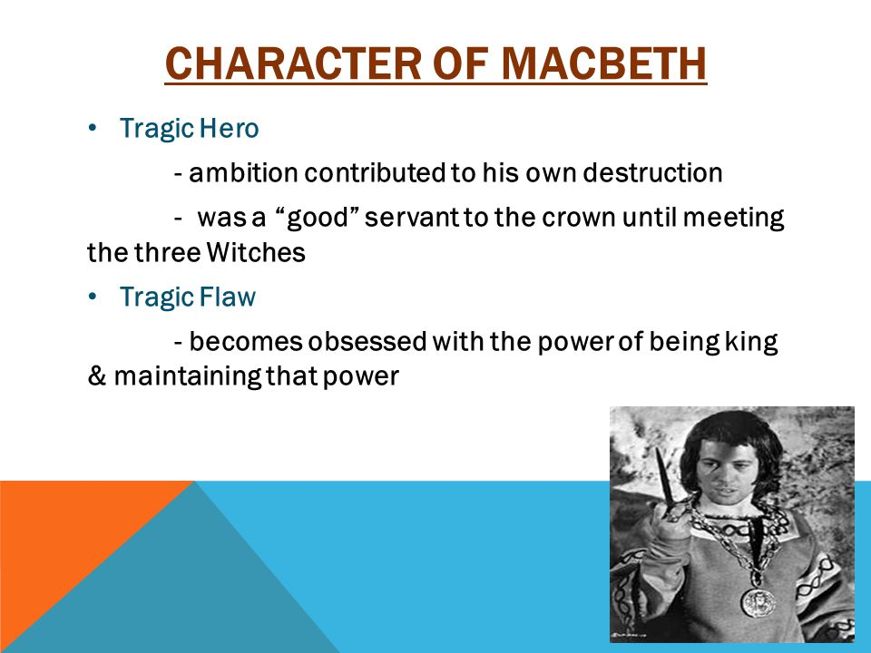 CHARACTER OF LADY MACBETH Is obsessed about gaining the power.