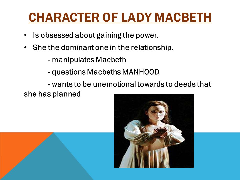 PASSAGE I: READING THE LETTER o Defining the scene  In this scene, Lady Macbeth receives a letter from Macbeth stating the occurrences with the three witches.