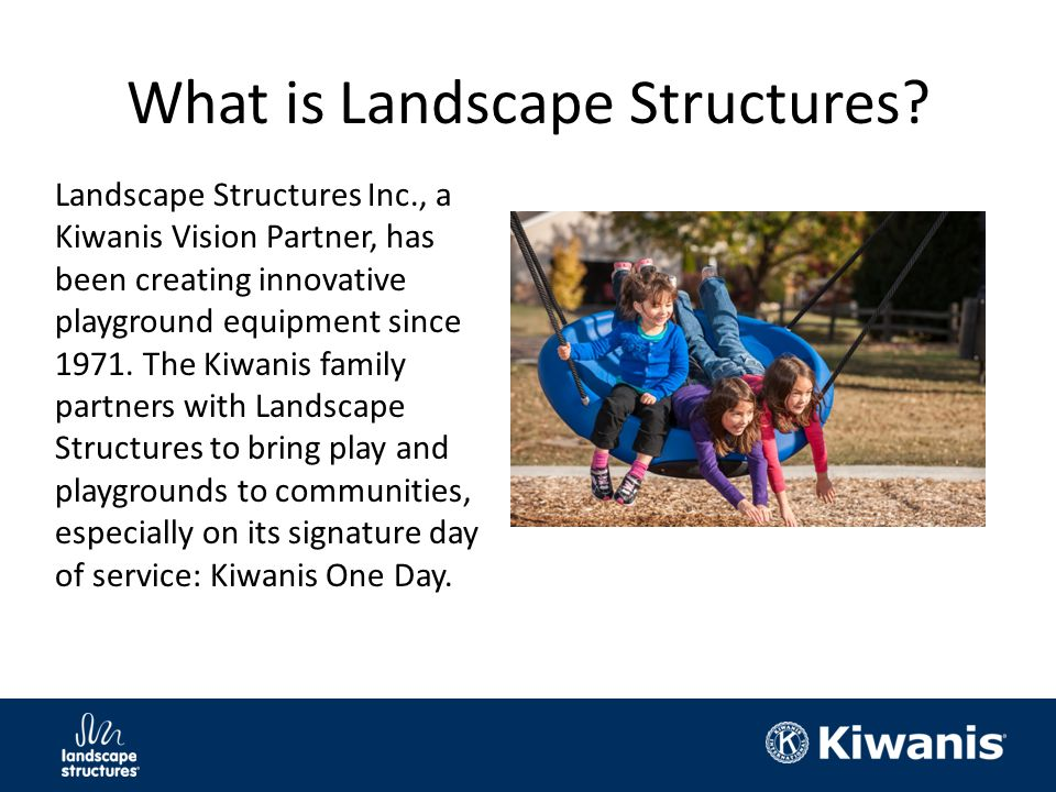 What is Landscape Structures.