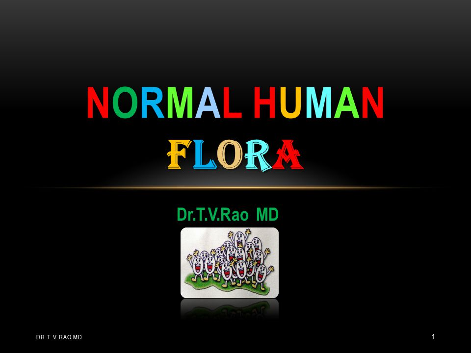 Sometimes the relationship between a member of the normal flora an its host cannot be deciphered.