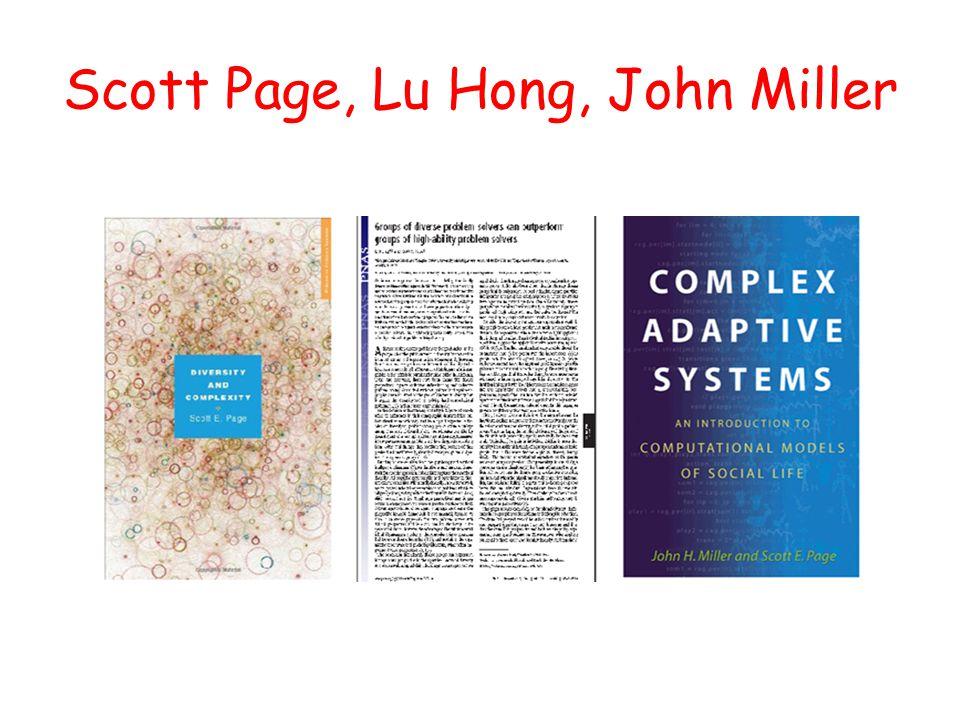 Scott Page, Lu Hong, John Miller