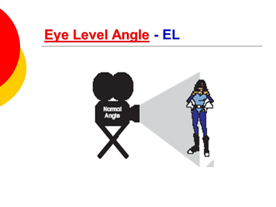 Eye Level Angle Eye Level AngleEye Level Angle Eye Level Angle - EL