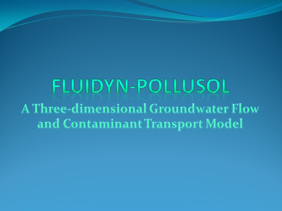 Porous Medium Porous Medium Four types of cases are considered: Four types of cases are considered: 1.