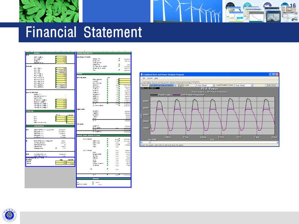 Financial Statement 16