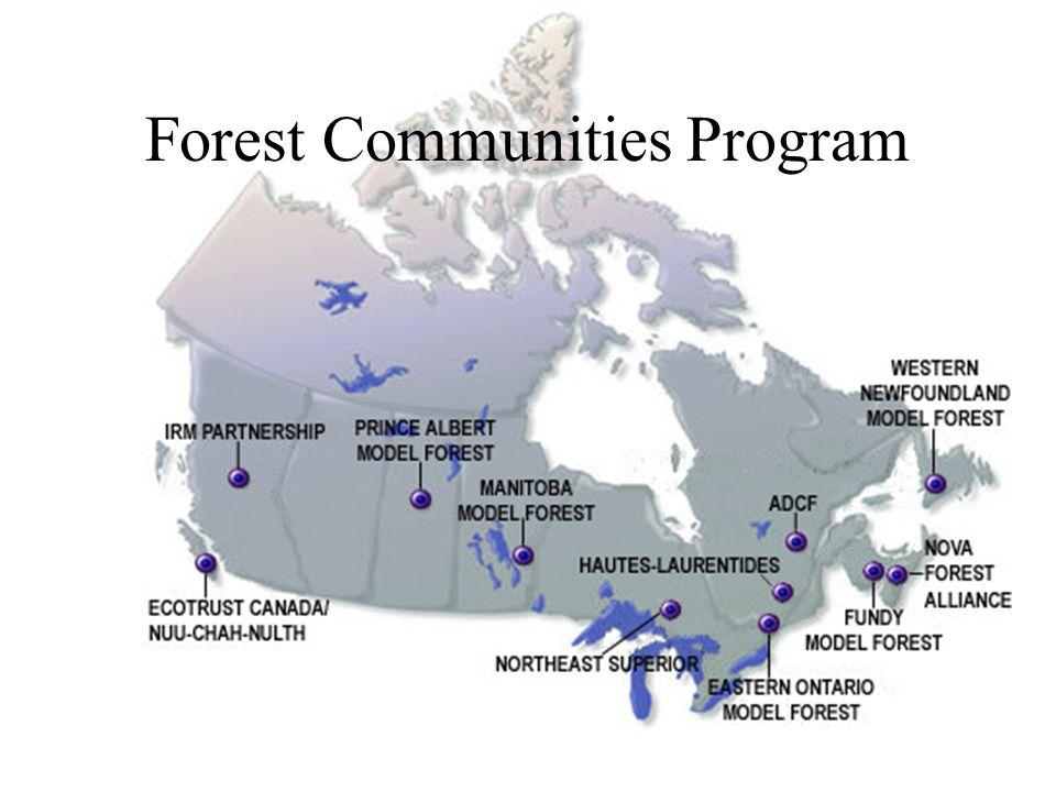 Forest Communities Program
