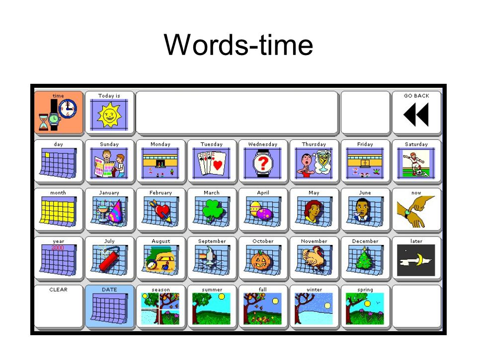 Words-time