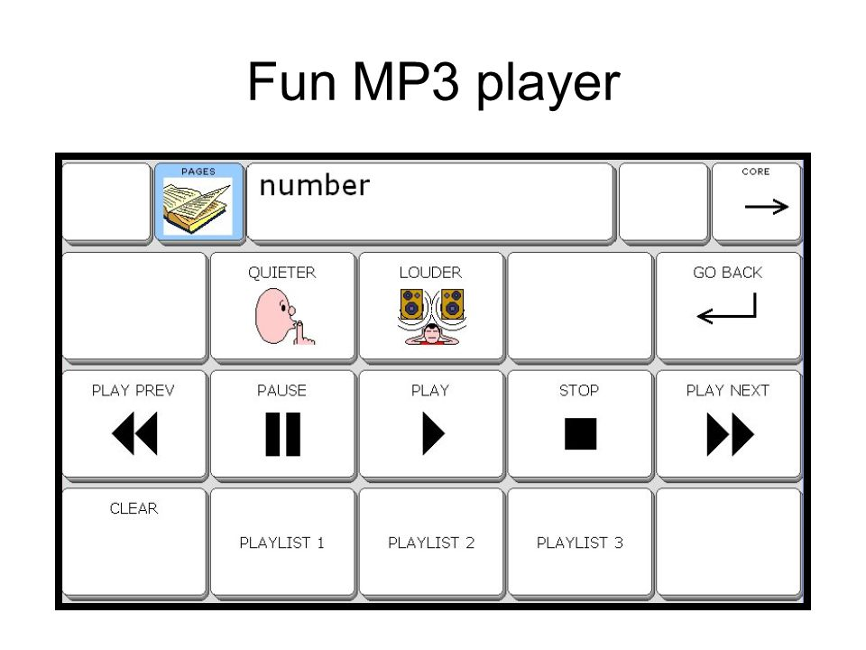 Fun MP3 player