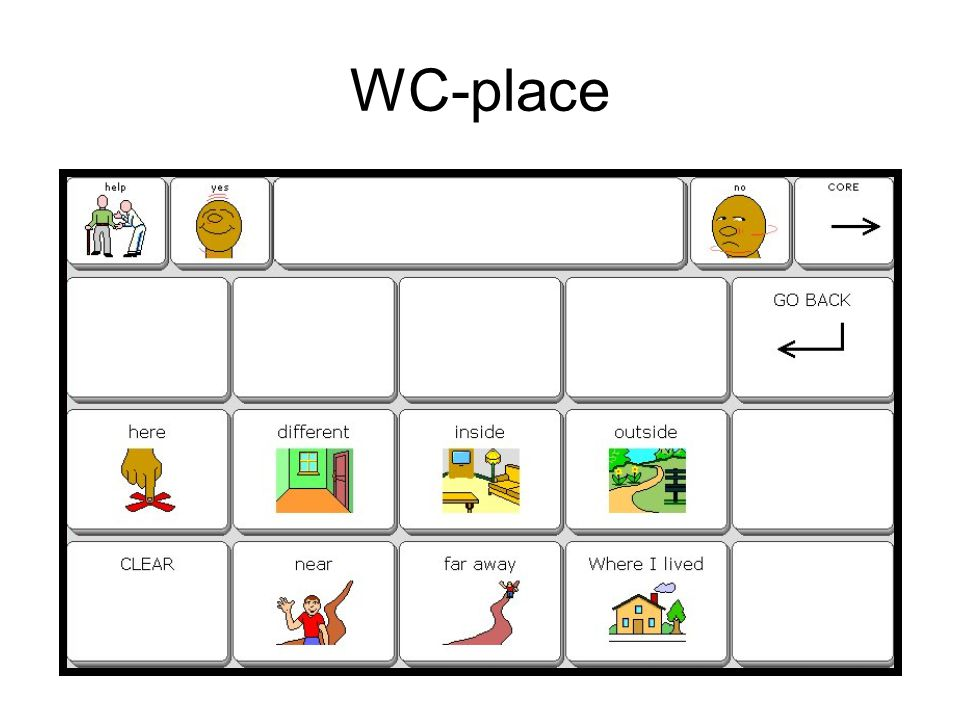 WC-place