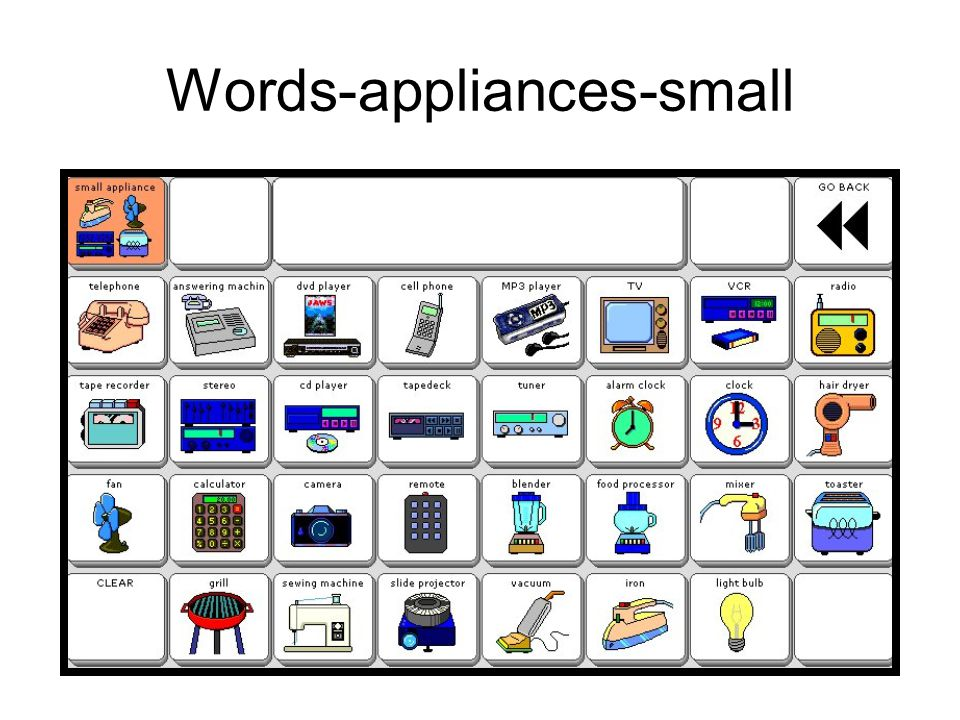 Words-appliances-small