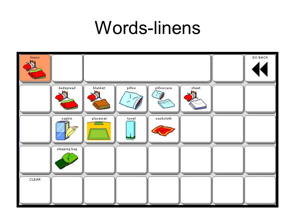 Words-linens