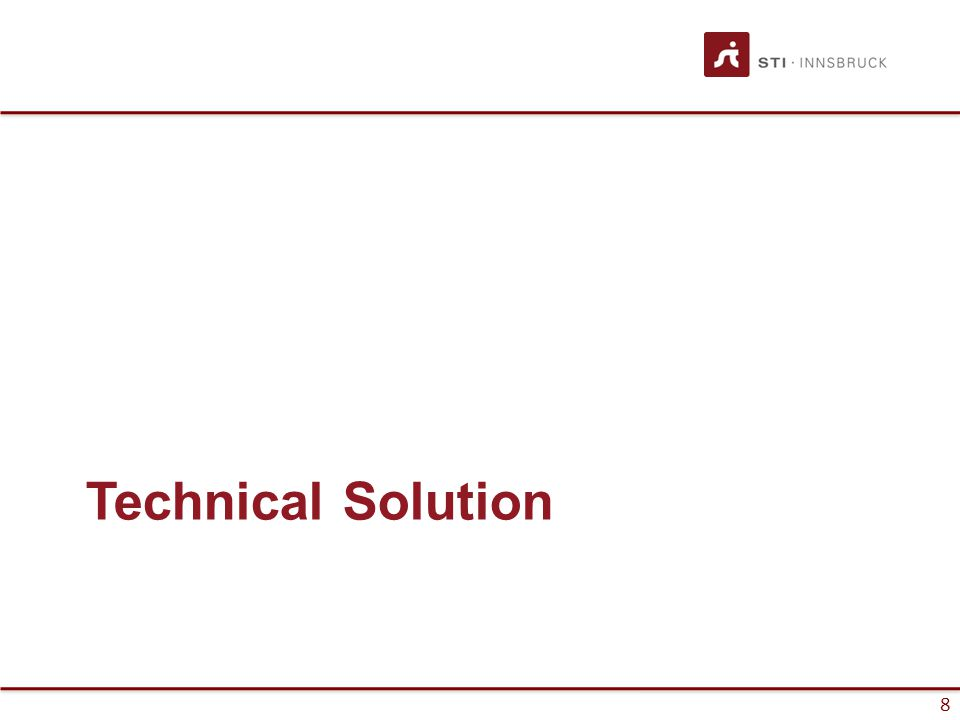 8 Technical Solution