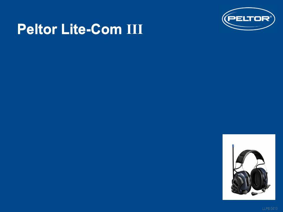 Peltor Lite-Com LLPB 0410 Lite-Com III Peltor Lite-Com III