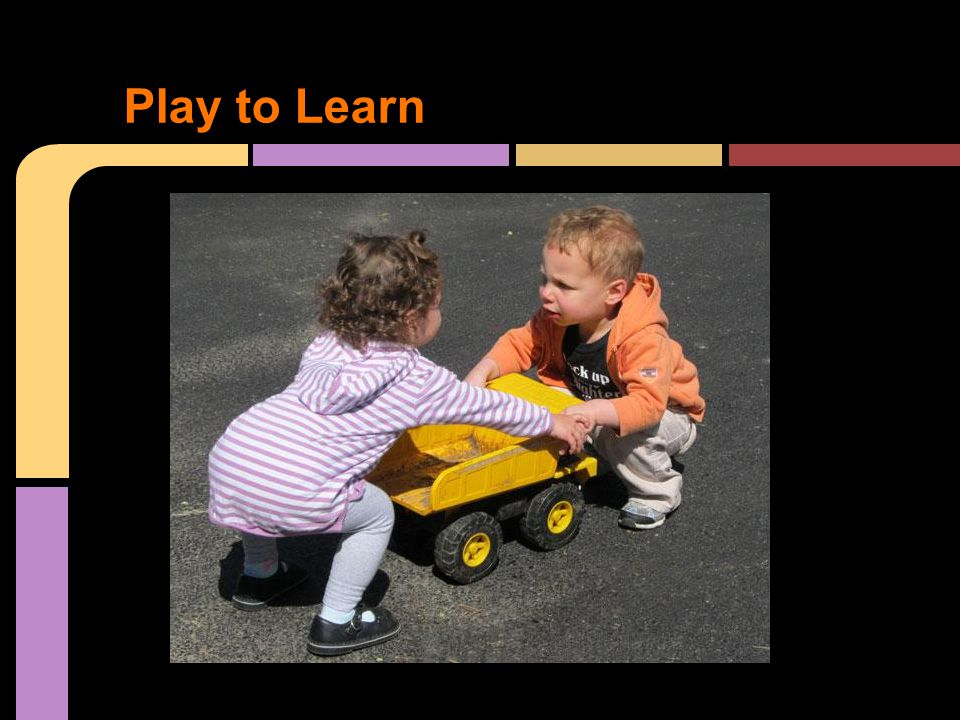 Play to Learn